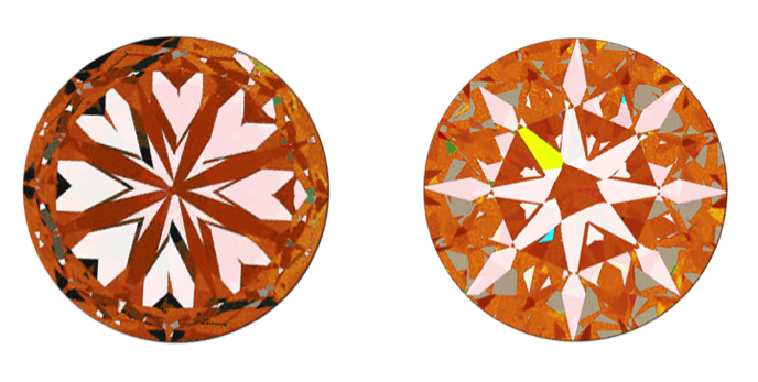 Poorly Formed Hearts Result In No Hearts and Arrows in Diamonds